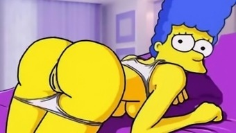 Simpsons pornography sketch parody