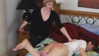 Spanked with Belt 2 or more
