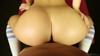 Amara Romani is amazing blond how is specialist in leading bad fats penis