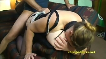 Big Jugged maid fucked by her boss