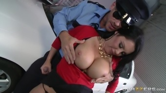 Undesirable krown Dayton Pours down fucks a the police officer while resides in uniform
