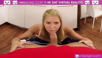 vr porn-ass fucking your hot youngster co-worker