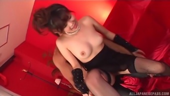 Japanese people sweetheart Rural china Yuki does soiled factors to produce a chew of ejaculation