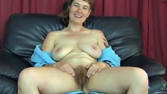 Extremely furry mature slut enhance her stormy completely love dig