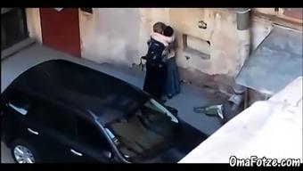OmaFotzE Do-it-yourself Granny Fucking Novice Online video media