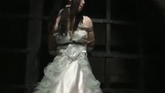 Japanese people Bride in Slavery Dungeon