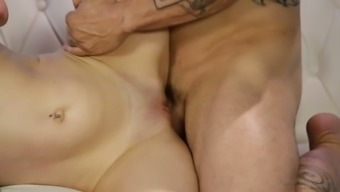 Svelte flirty nympho Lacey Channing is therefore into jerking off boner cock
