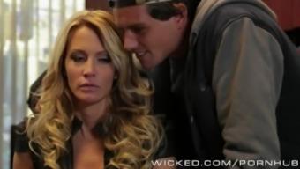 Wicked - Hot Milf Jessica Drake loves cock