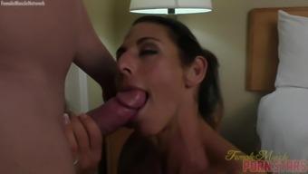 Female Bodybuilder Briana Beau Loves To Fuck