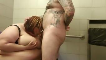 Ssbbw bathroom 1