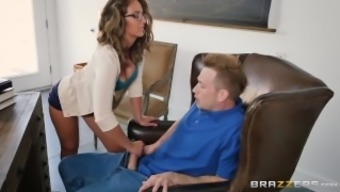 Naughty assistant Layla England loves prick - Brazzers