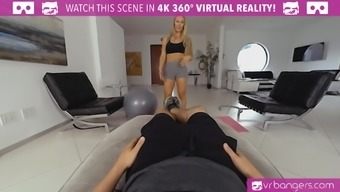 Nicole Aniston as your personal trainer is going to tutor you and persuade each of your cock