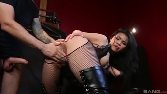 Miraculous BDSM performance by using amazing Cindy Starfall and her fella