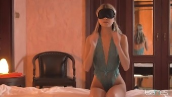 blindfolded doris ivy does blowjob and gets banged in their new panties
