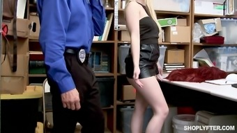Mean arrested black Darcie Belle is fucked and penalized for the wrongdoing of selling the illicit drugs for stealing