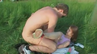 Brutal young adults anus outdoor fuck