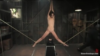 lean nasty person tied up and gagged