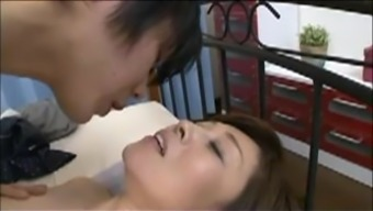 Japanese people Mother blackmailed by Step Teenager 6(six)