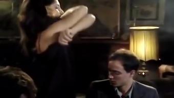 Lisa Bright, Damien Cashmere, Jon Dough in retro porn slut cheats on her husband with 3 men