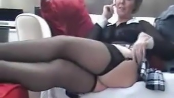 UK Sara fingering her pussy at home!.