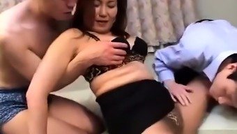 Toying blowjob sucking from asia Oriental