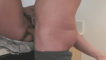 BUSTED! I Caught my Cheating Husband Fucking My Sister in Kitchen