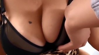 Horny Hot Milf Julia Ann Sucks A Cock & Gets Her Boy Batter!