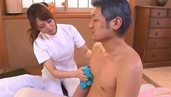 Amateur video of Japanese nurse Akiho Yoshizawa sucking a dick