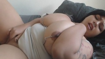 Cute Latina With the use of Huge Tits Sense Herself