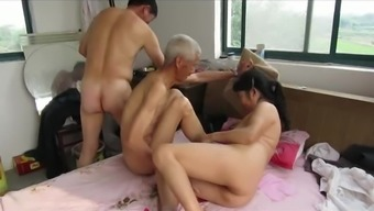 From asia Grandpas in Performance
