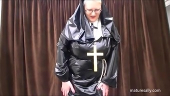 Exactly what does a nun choose underneath her practice!!!!