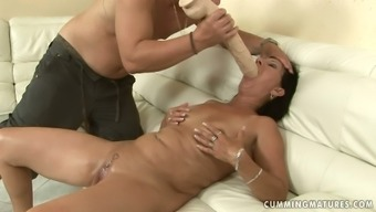 Spoiled blond age squirts getting her grab fisted