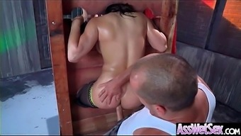 Profound Anal Love-making On Strip With the use of Great Curvy Stupid ass Naughty Love (Abella Danger) vid-02