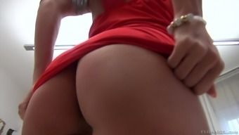 Spreading his babe's Alexa Tomas asshole and fucking her handle