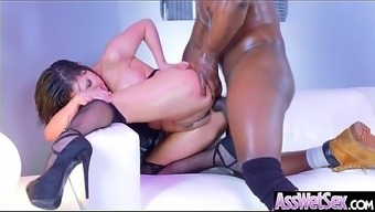 Major Booty Krown (Aleksa Nicole) Get Oiled Out And Hard Analy Nailed On Cam mov-04