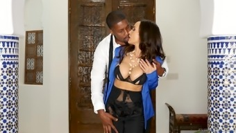 Big tits chick Ms weis Ann craves for a great pack of black pecker