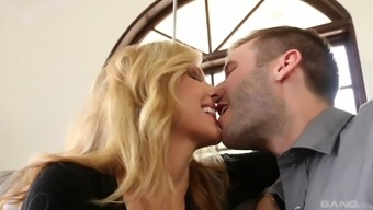 Busty Julia Ann jumping linked to constant wiener and whining