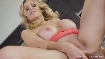 Perverted mature female Julia Ann is in need associated with a pleasant fuck